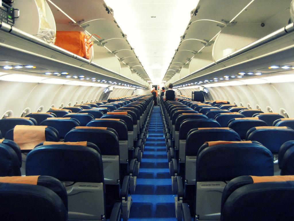 Pokład samolotu.