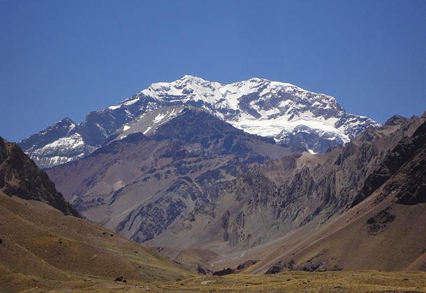 Aconcagua - najwyższy szczyt Ameryki Południowej