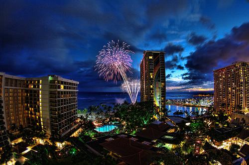 Walentynki na Hawajach