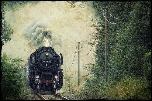 Lokomotywa, pociąg, train