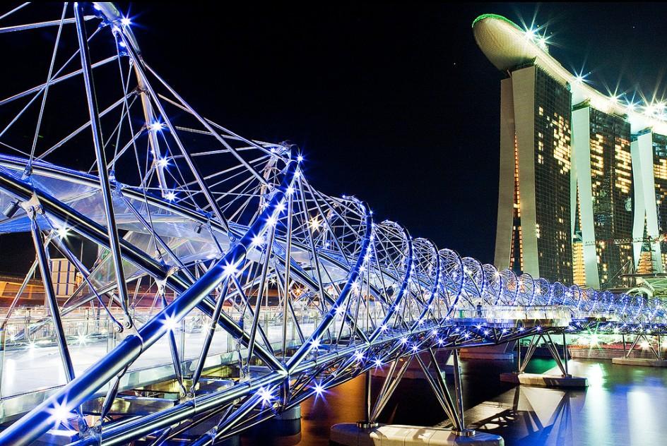 Most Helix w Singapurze
