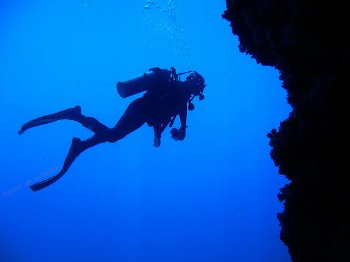 nurkowanie, nurek, wyspy kanaryjskie