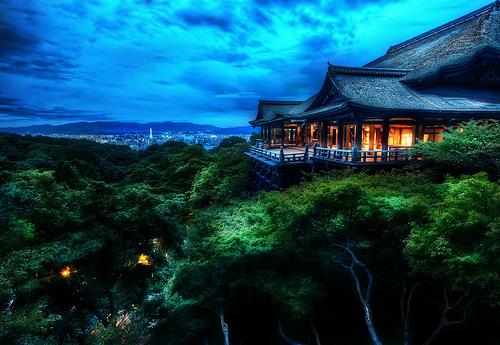 Świątynia Kiyomizu, Japonia.