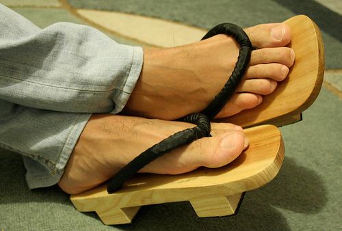 Geta - tradycyjne buty japońskie.