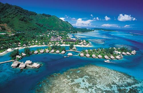 Wyspa Bora Bora (bora bor)