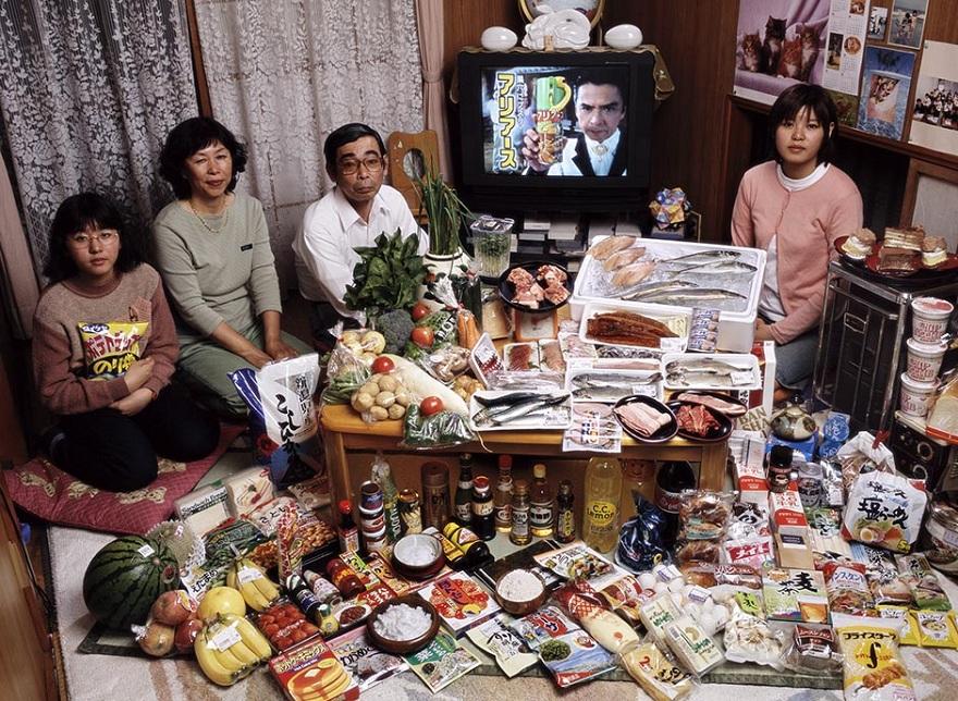 Rodzina z Kodairy z Japonii