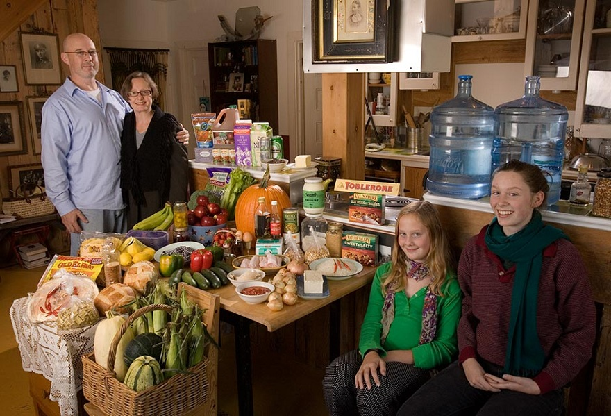 Rodzina z Gatineau w Kanadzie