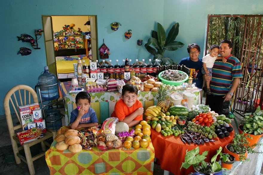 Rodzina z Cuernavaca w Meksyku