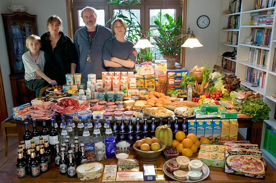Rodzina z Bargteheide w Niemczech