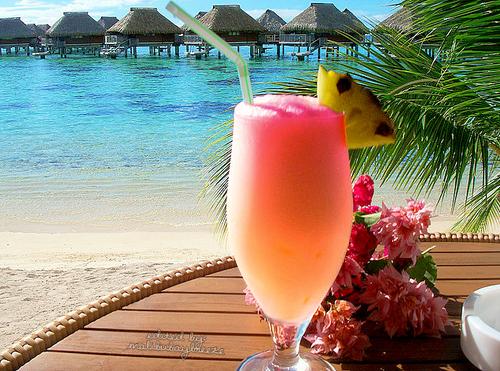 Koktajl na Bora Bora
