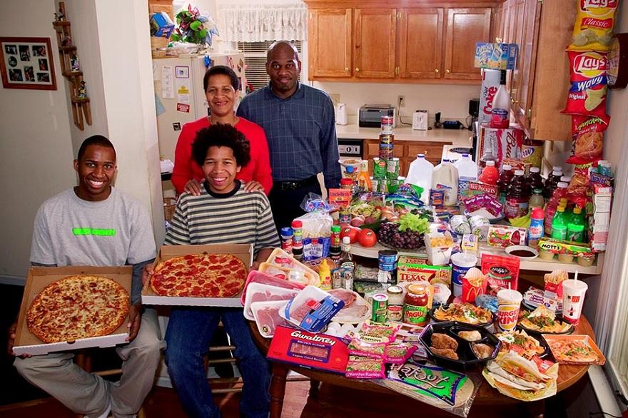 Rodzina z Północnej Karoliny w USA