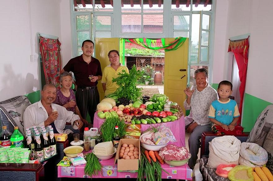 Rodzina z Weitaiwu w Chinach